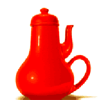 The famous masochist coffee pot symbolises a product not usable for a bad design example