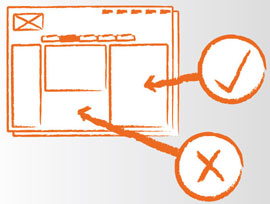 User experience and navigation system design to optimise a website making it more functional and effective